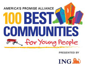 100 Best Communities for young people logo