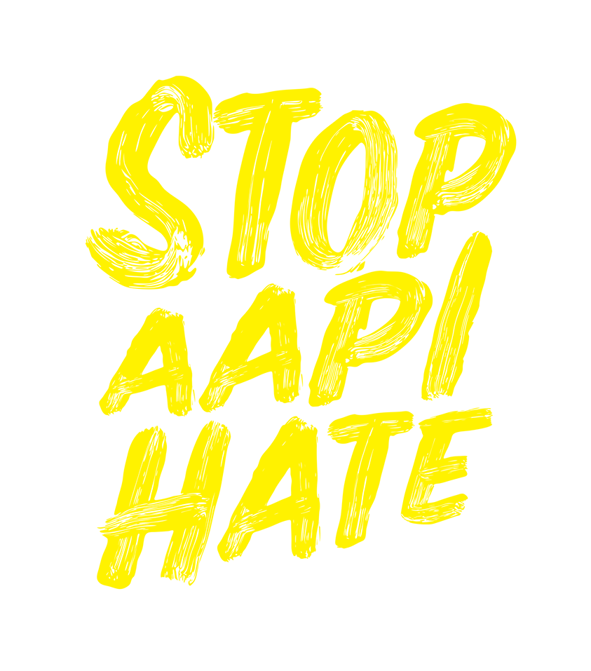 Image that says Stop AAPI Hate