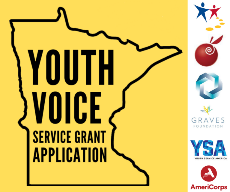 Youth Voice Service Grant logo
