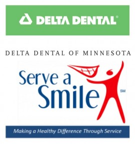 Serve a Smile and Delta Dental logo