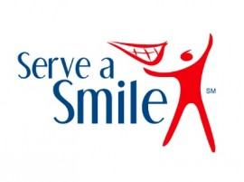 Serve a smile logo