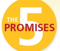 The 5 Promises logo